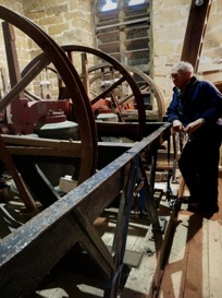 The Wardington bells with Roderick Stell, Steeple Keeper