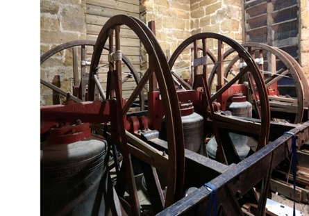 The Wardington bells – Tenor at left front