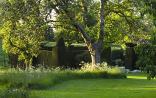 Top of the Pond Walk at Wardington Manor