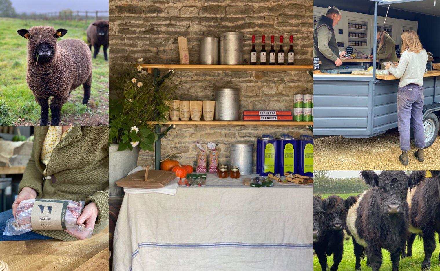 Wardington manor pop-up shop